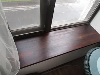出窓カウンター再塗装